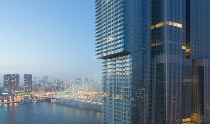 1. reducida 30. Evening view on bridge_ Image courtesy of OMA; photography by Ossip van Duivenbode