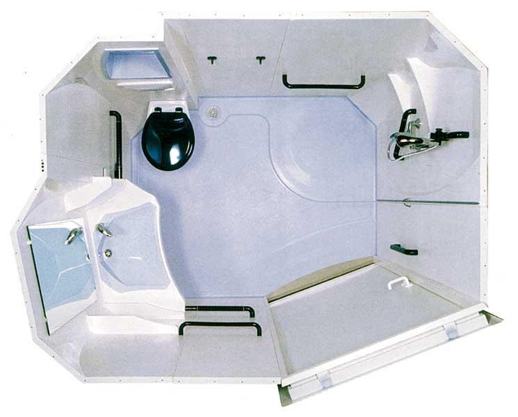 China Sally1424-1 un cuarto de baño prefabricados de calidad ...